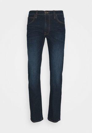 DAREN ZIP FLY - Straight leg jeans - dark sidney