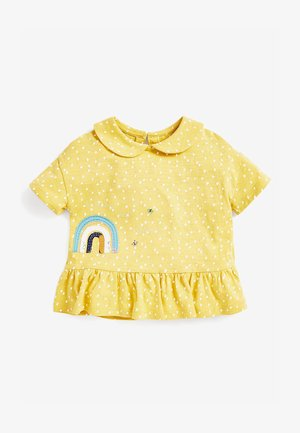 RAINBOW PEPLUM - Print T-shirt - yellow