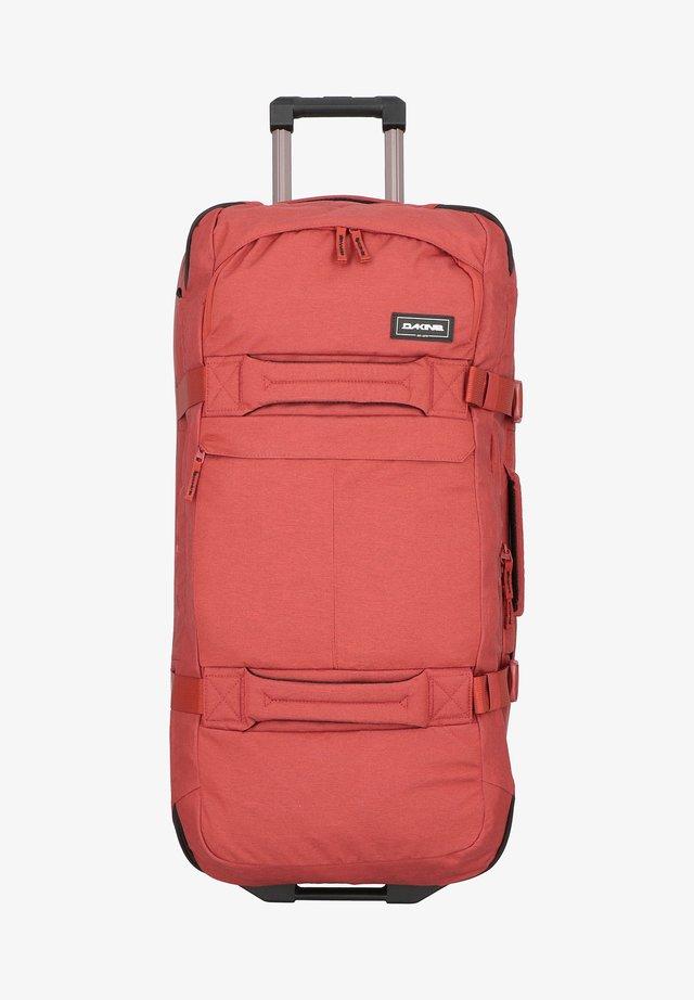 SPLIT ROLLER  - Wheeled suitcase - mottled orange