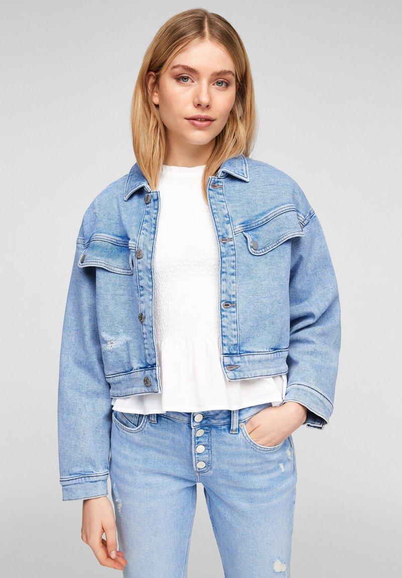 Q/S designed by - Denim jacket - blue