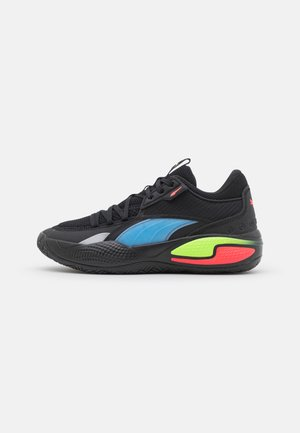 COURT RIDER POP - Basketball shoes - black/bluemazing