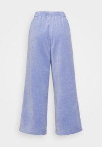 Monki - CORIE TROUSERS - Trousers - blue light - 5