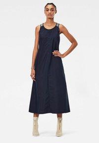G-Star - UTILITY STRAP DRESS - Day dress - rinsed - 0