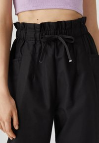 PULL&BEAR - Trousers - black - 3