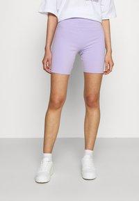 Hollister Co. - BIKE  - Shorts - lavender - 0