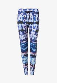 Desigual - TULL TIEDYE - Legging - blue - 5