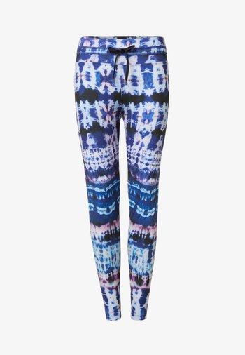 TULL TIEDYE - Leggings - Trousers - blue