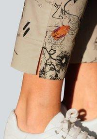 Alba Moda - Trousers - beige,pfirsich,schwarz - 4