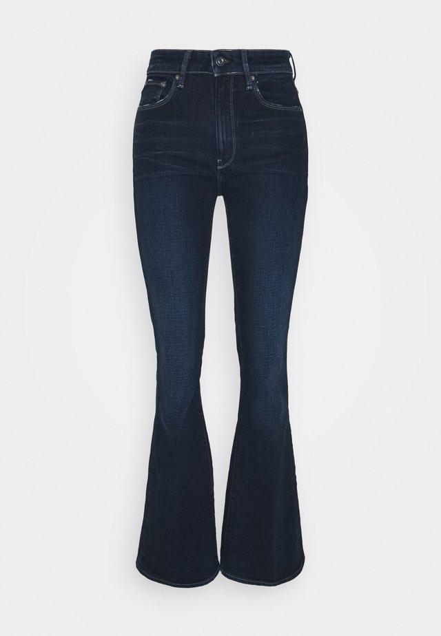 3301 FLARE - Jeans a zampa - worn in ultramarine