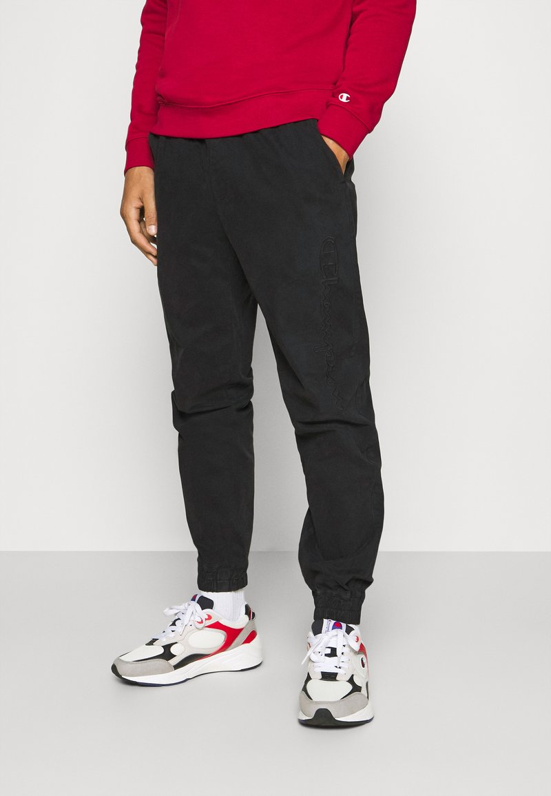 Champion - ROCHESTER ACID WASH PANT - Tracksuit bottoms - black