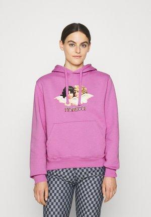 VINTAGE ANGELS HOODIE - Sweater - purple