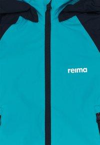 Reima - FISKARE JACKET - Waterproof jacket - aquatic - 3