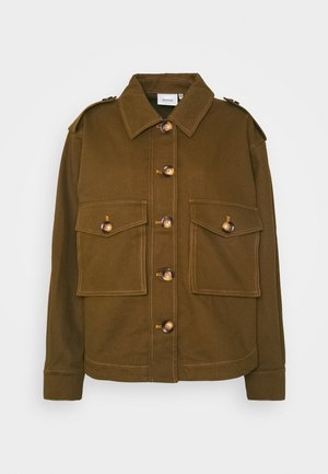 BETONY JACKET - Denim jacket - dark olive