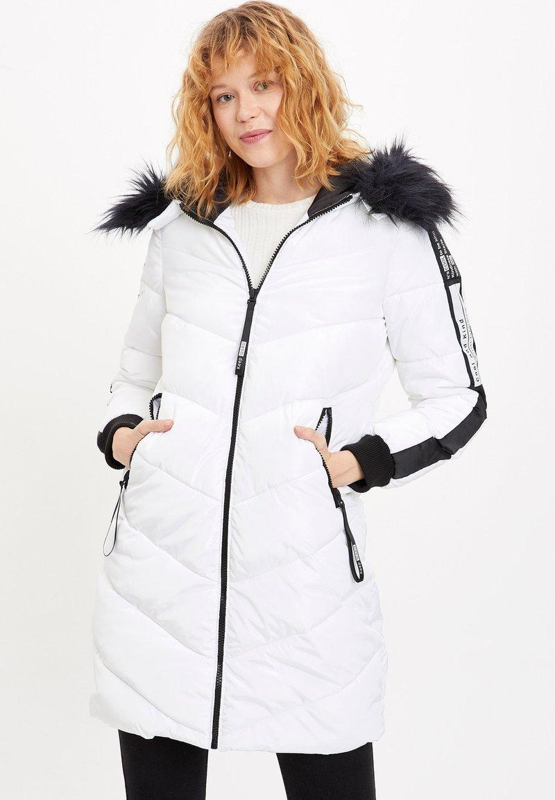 DeFacto - Winter coat - white