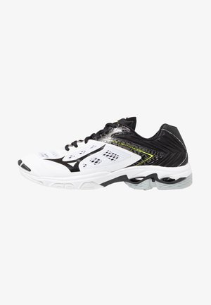 WAVE LIGHTNING Z5 - Volleyballsko - white/black/safety yellow