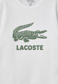 Lacoste - LOGO  - Sweatshirt - white - 2