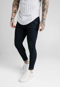 SIKSILK - Skinny džíny - raw indigo - 0
