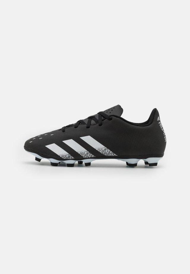 PREDATOR FREAK .4 FXG - Voetbalschoenen met kunststof noppen - core black/footwear white