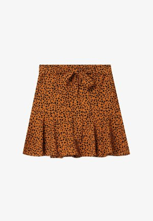 SKORT - Gonna a campana - brown