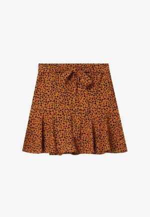 SKORT - A-line skirt - brown