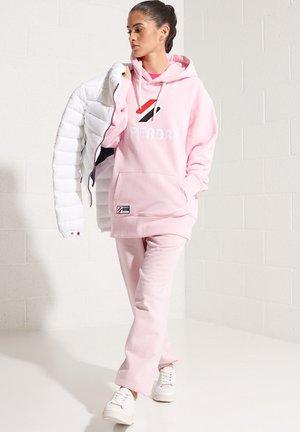 Hoodie - roseate pink