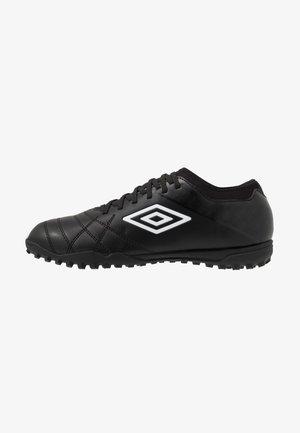 MEDUSÆ III CLUB TF - Scarpe da calcetto con tacchetti - black/white