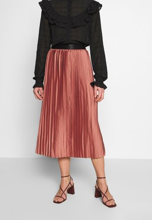 MABELLA SKIRT - A-Linien-Rock - brick dust