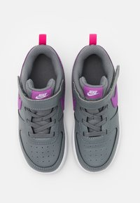 Nike Sportswear - COURT BOROUGH 2 - Trainers - smoke grey/purple/watermelon/white - 3