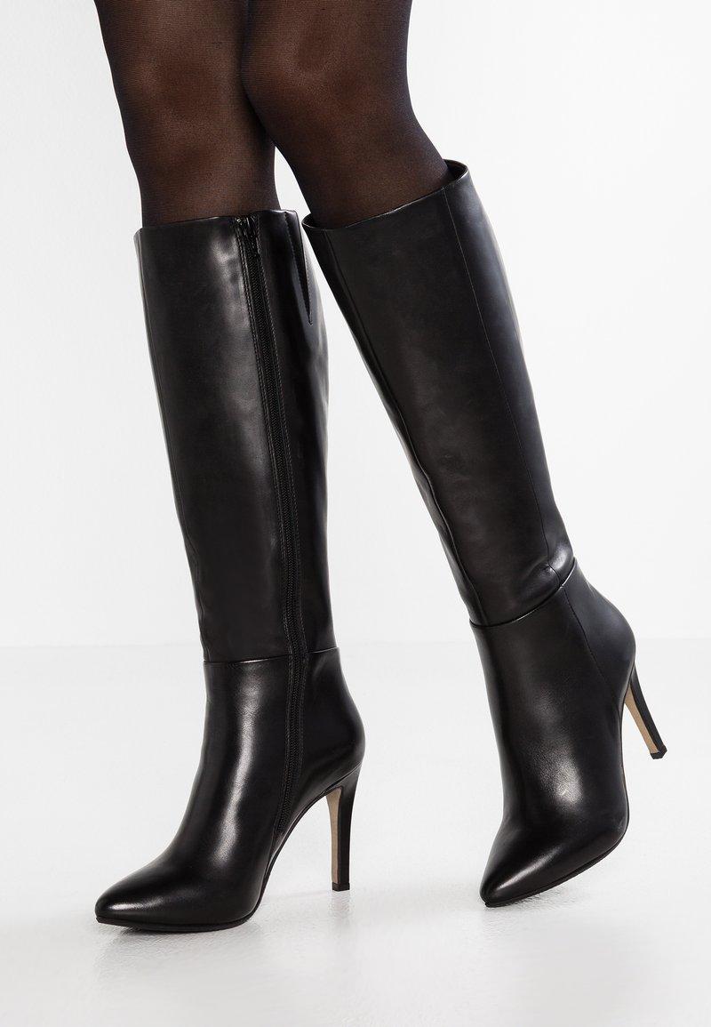 Steven New York - NOLITA - Stivali con i tacchi - black