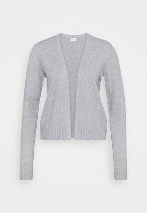 VIRIL - Cardigan - light grey melange