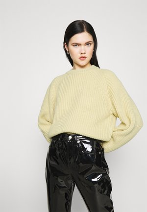 ELINA - Sweter - light yellow