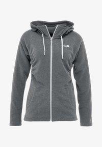 The North Face - MEZZALUNA - Fleece jacket - black - 4