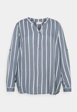 Blouse - blue mirage/ chalk stripe
