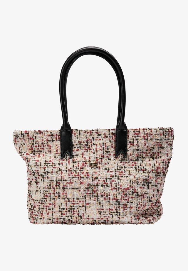 Tote bag - weiss multicolor