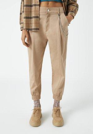 Bukser - mottled brown
