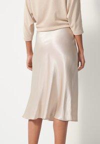 someday. - A-line skirt - beige - 1