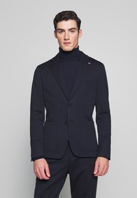 Tommy Hilfiger Tailored - PACKABLE SLIM FLEX STRIPE SUIT - Suit - blue - 2