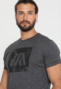 Your Turn Active - T-shirts print - dark grey melange - 3