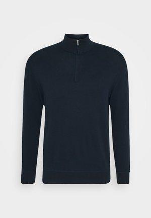 ZIP - Stickad tröja - dark blue