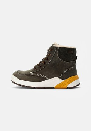 RUBEN TEX - Lace-up ankle boots - black olive