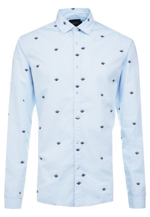 BLAUW LIGHT WEIGHT SHIRT WITH PRINTS - Vapaa-ajan kauluspaita - combo