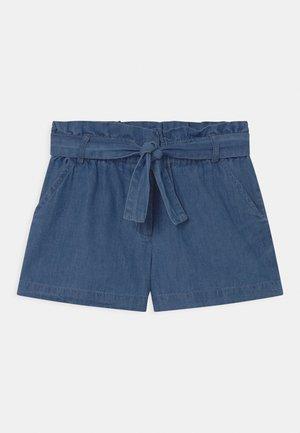 CORINE - Denim shorts - blue