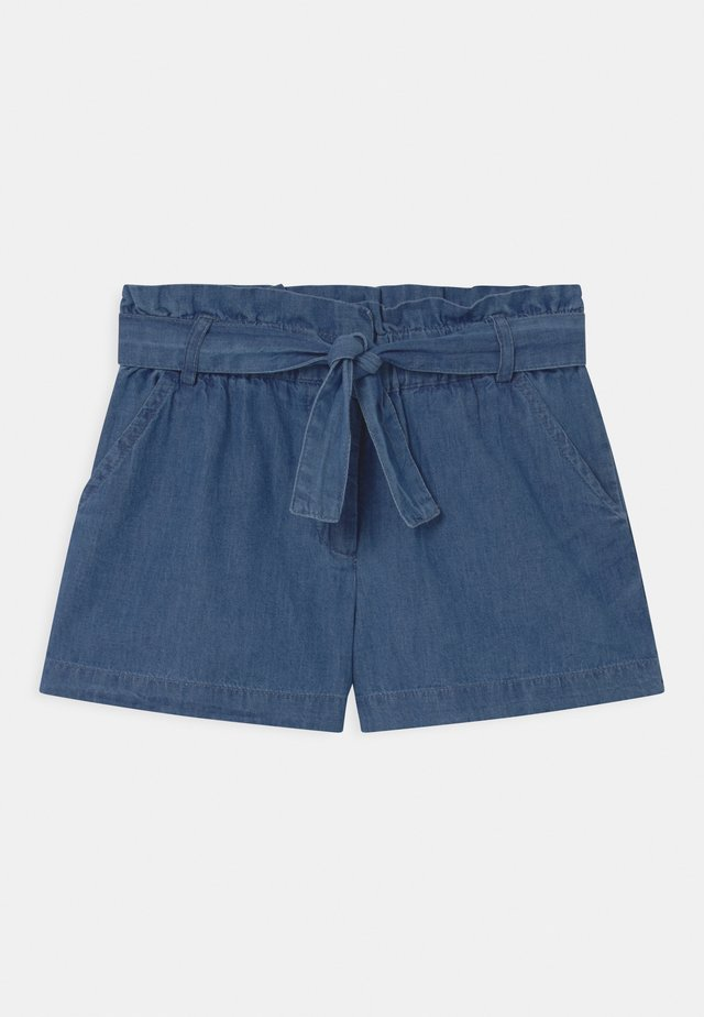 CORINE - Short en jean - blue