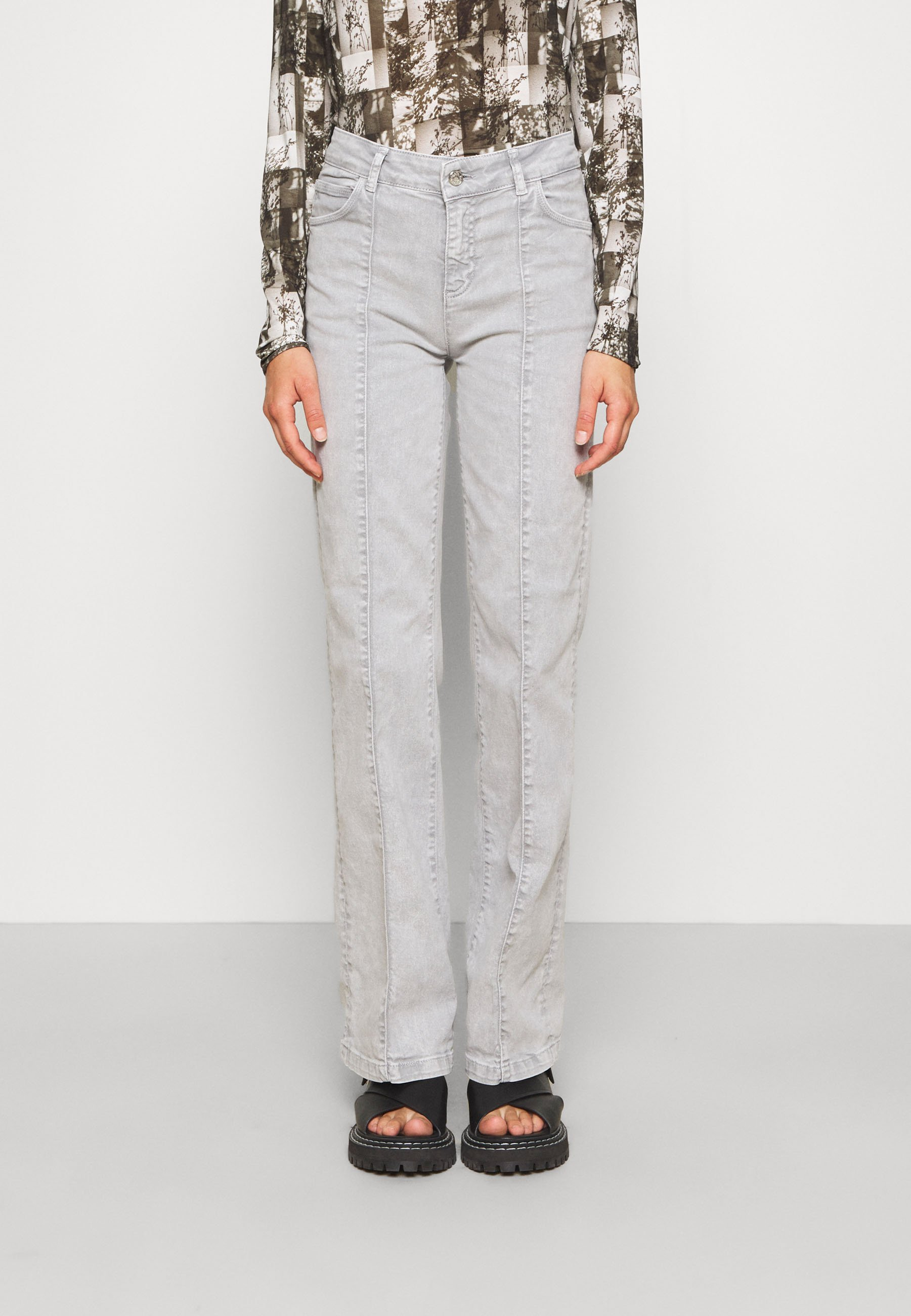 Damer MIGLIAIO - Flared jeans