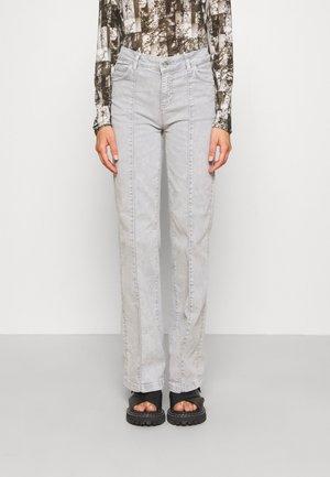 MIGLIAIO - Flared Jeans - medium grey