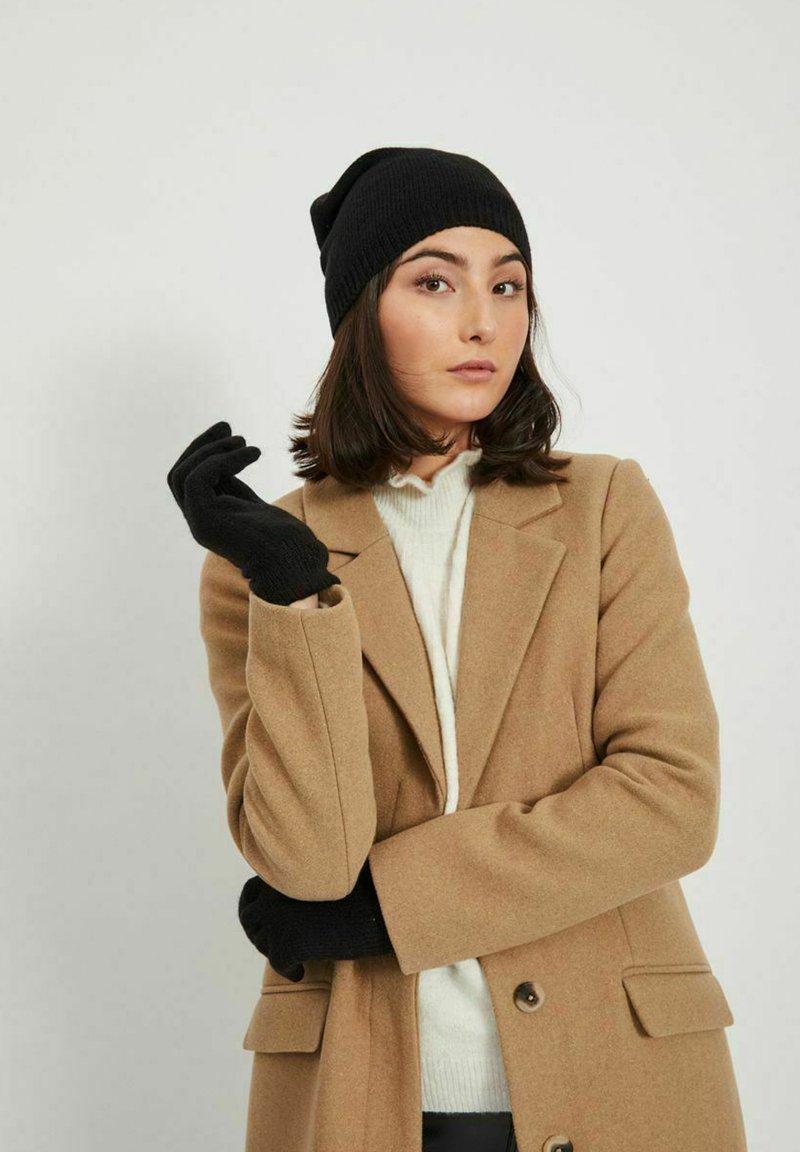 Vila - SET 2 - Gloves - black