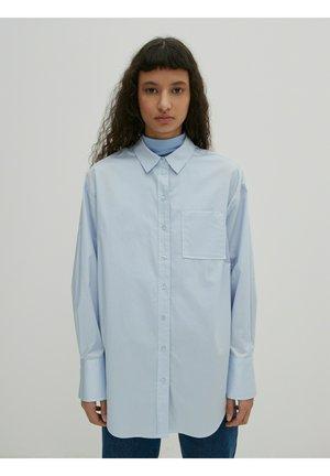 GIANNA - Button-down blouse - blau