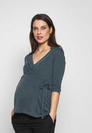 MLMIE TESS 3/4  - Long sleeved top - orion blue