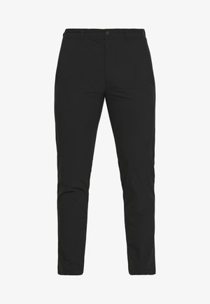 RIVER - Trousers - black