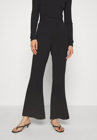 Mossman - THE FLAWLESS PANT - Trousers - black - 0